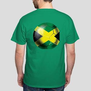 Jamaica Football Dark T-Shirt
