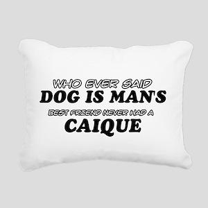 Caique Designs Rectangular Canvas Pillow