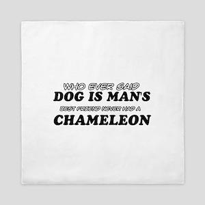 Chameleon Designs Queen Duvet
