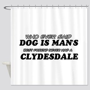 Clydesdale Designs Shower Curtain