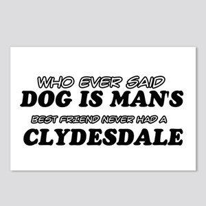 Clydesdale Designs Postcards (Package of 8)