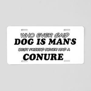 Conure Designs Aluminum License Plate