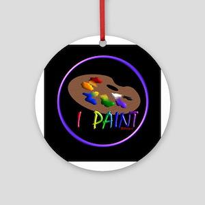 Artists Pallette Ornament (Round)