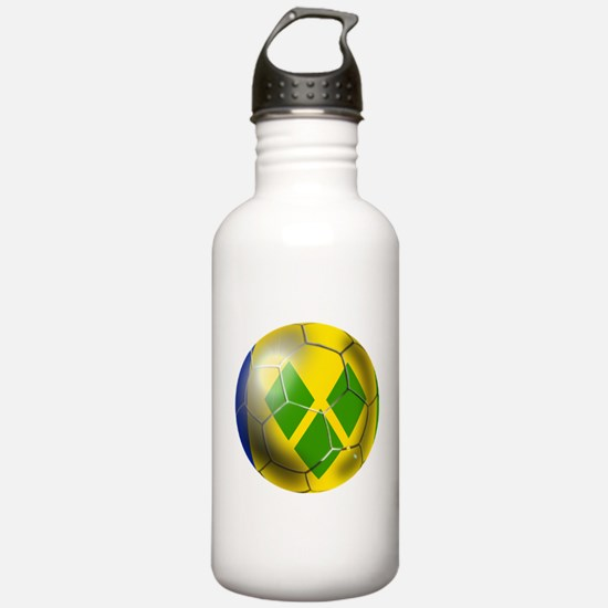 Saint Vincent Football Water Bottle