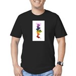 Little Chakra Tree Men's Fitted T-Shirt (dark)