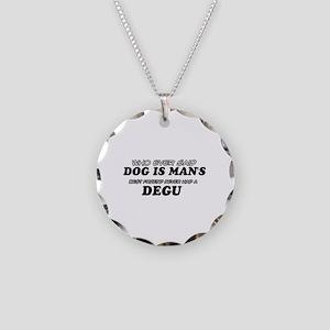 degu Designs Necklace Circle Charm