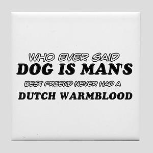 Dutch Warm Blood Designs Tile Coaster