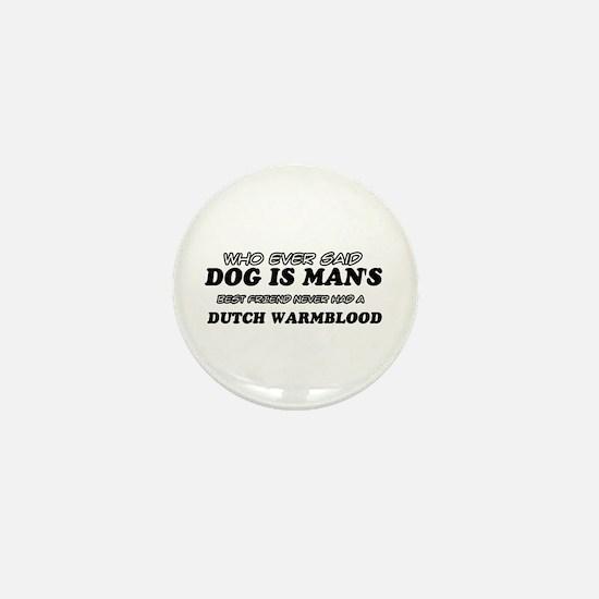 Dutch Warm Blood Designs Mini Button
