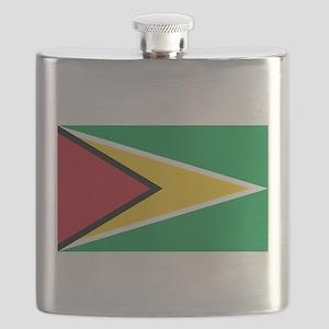 Flag of Guyana Flask