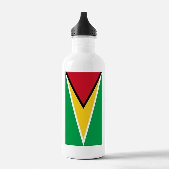 Flag of Guyana Water Bottle