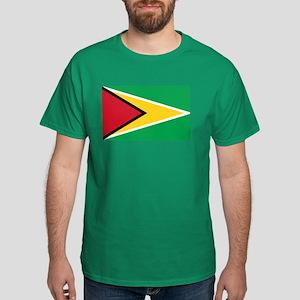 Flag of Guyana Dark T-Shirt