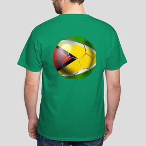 Guyana Football Dark T-Shirt