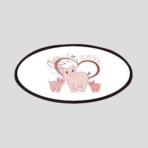 Love You, Cute Piggies Art Patches