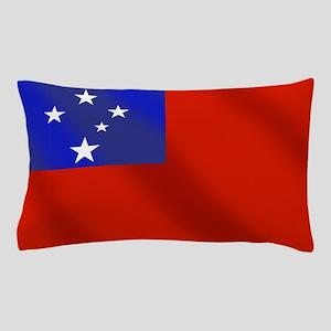 Flag of Samoa Pillow Case