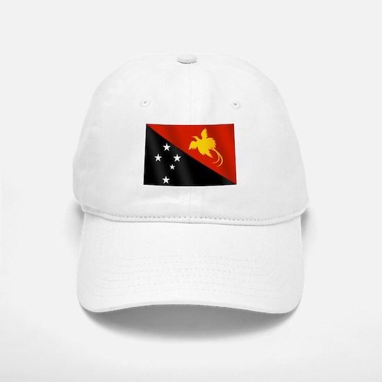 Papau New Guinea Flag Baseball Baseball Cap