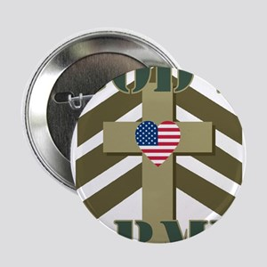 """GOD'S ARMY 2.25"""" Button"""