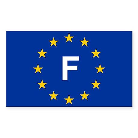 EU France Sticker