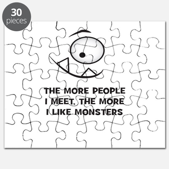 The more I Like Monsters Puzzle