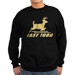 Fast Food Deer Sweatshirt