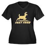 Fast Food Deer Plus Size T-Shirt