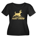 Fast Food Deer Plus Size T-Shirt