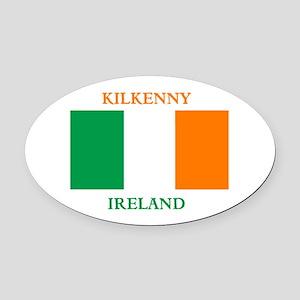 Kilkenny Ireland Oval Car Magnet