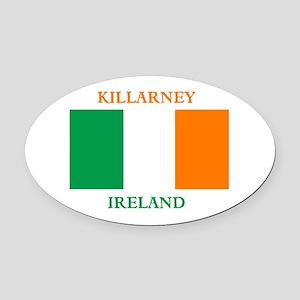 Killarney Ireland Oval Car Magnet
