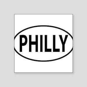 Philadelphia PHILLY Oval decal Sticker