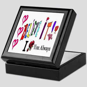 Love You Always Keepsake Box