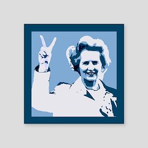 MAGGIE THATCHER VICTORY PRINT Sticker