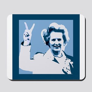 MAGGIE THATCHER VICTORY PRINT Mousepad