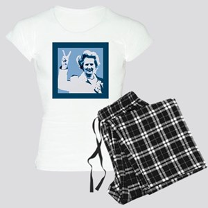 MAGGIE THATCHER VICTORY PRINT Pajamas