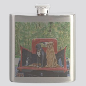 Antique Truck Flask