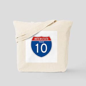 Interstate 10 - TX Tote Bag
