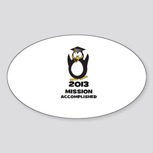 2013 Grad Mission Accomplished Sticker