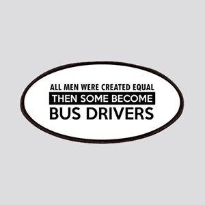 Bus Driver Designs Patches