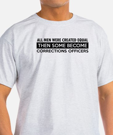 Correction Officers Designs T-Shirt