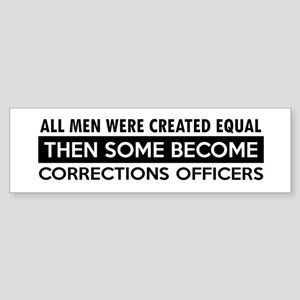 Correction Officers Designs Sticker (Bumper)