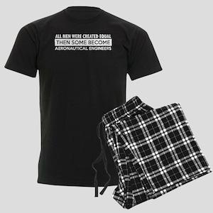 Aeronautical Engineer Designs Men's Dark Pajamas