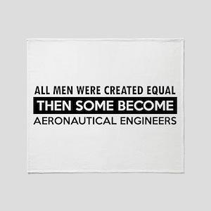 Aeronautical Engineer Designs Throw Blanket
