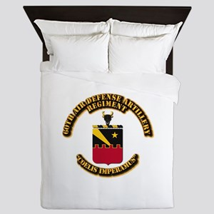 COA - 60th ADA Regiment Queen Duvet