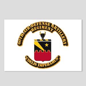 COA - 60th ADA Regiment Postcards (Package of 8)