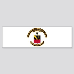 COA - 60th ADA Regiment Sticker (Bumper)