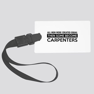 Carpenter Designs Large Luggage Tag