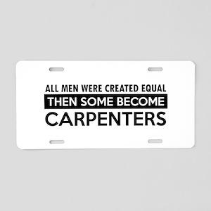 Carpenter Designs Aluminum License Plate
