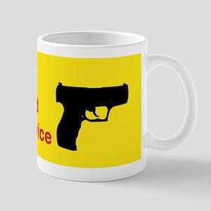 I LOVE MY HAND HELD WIRELESS DEVICE mug RIGHT Mug