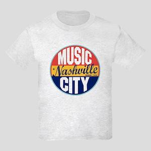 Nashville Vintage Label Kids Light T-Shirt