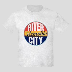 Memphis Vintage Label Kids Light T-Shirt