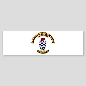 COA - 59th Air Defense Artillery Regiment Sticker