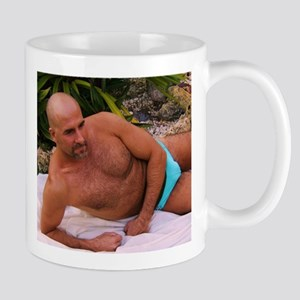 Blue Speedo Mug